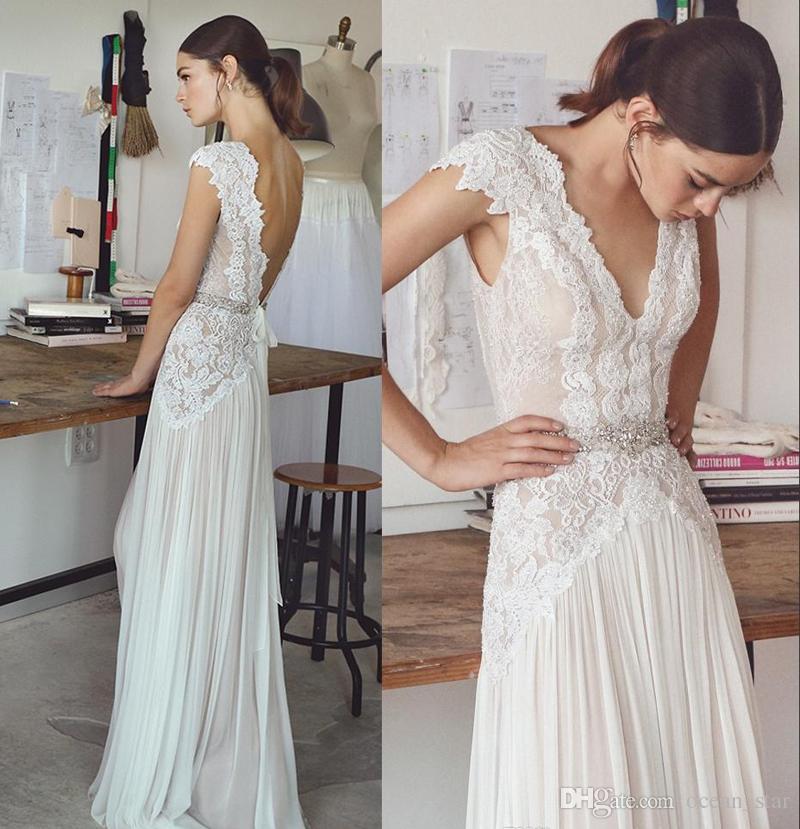 compre vestidos de novia boho lihi hod 2017 vestidos de novia