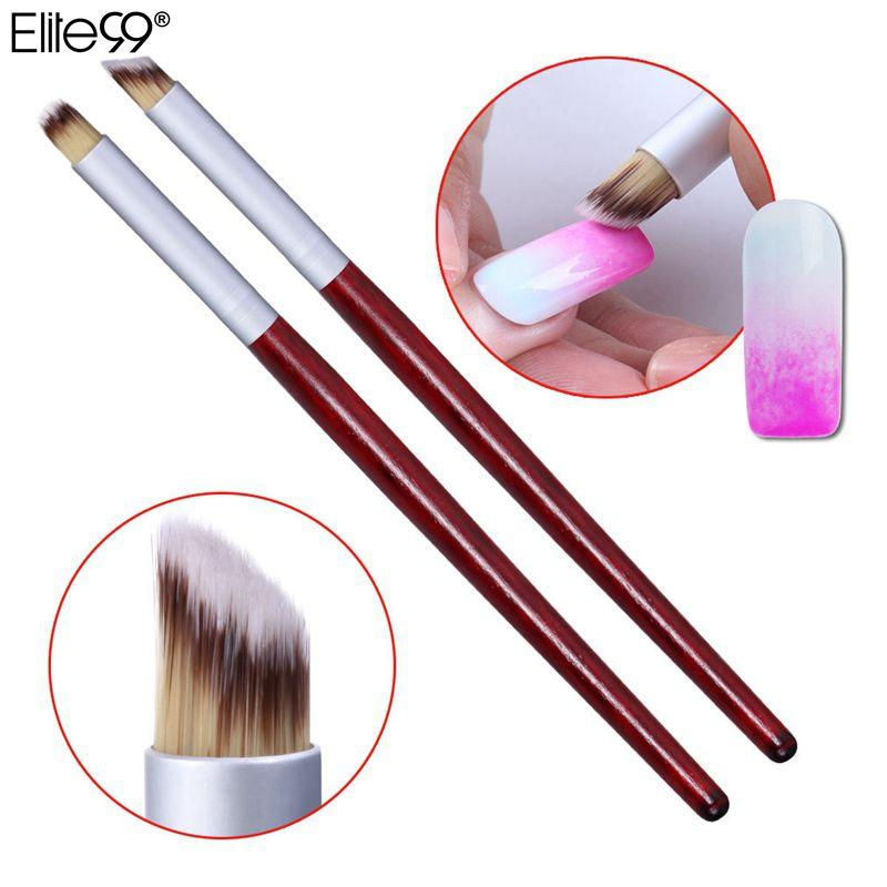 Wholesale- Elite99 Nail Art Decorations Nail Brush Set Tools Professional  Painting Pen for False Nail Tips UV LED Gel Polish