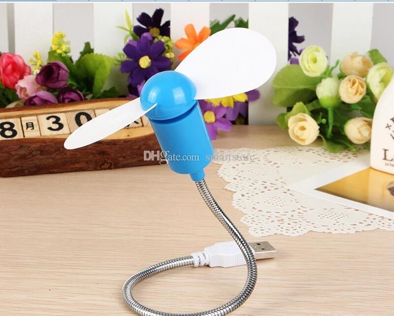 flessibile metallo USB mini raffreddamento dispositivo di raffreddamento computer desktop notebook portatile spedizione gratuita 0001