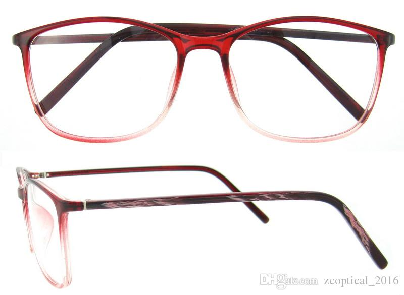 Men Women Ultra Light Eyeglasses Frames Oversize Eyewear Plain Glass ...
