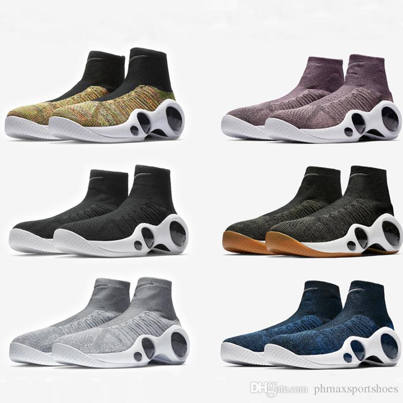f8f3fbd9473a 2018 Air Zoom Flight 95 High Quality Racers Bonafide SE Jason Kidd  Multicolor Basketball Shoes Vachetta Tan High Top Retro Cool Grey Boots.