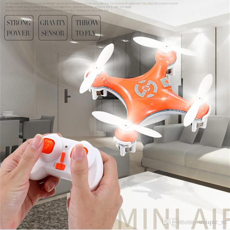 Hot Sale CX-10 Mini 2.4G Remote Control Toys 4CH 6Axis RC Drone Quadcopter helicopter 4 Channel 2.4GHz 6-Axis Gyro UFO Airplane Cheerson