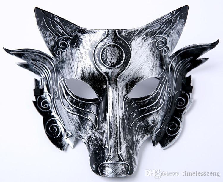 Parti Loup Masque Halloween Party mascarade Masques Wolves Bal costumé Bar Décoration pour adultes Costume Party --- FP1028