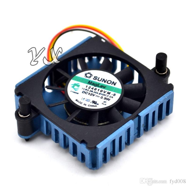 new SUNON 124010VM-8 DC12V 0.9W Graphics Video Card Cooler cooling Fan For radware AD2016