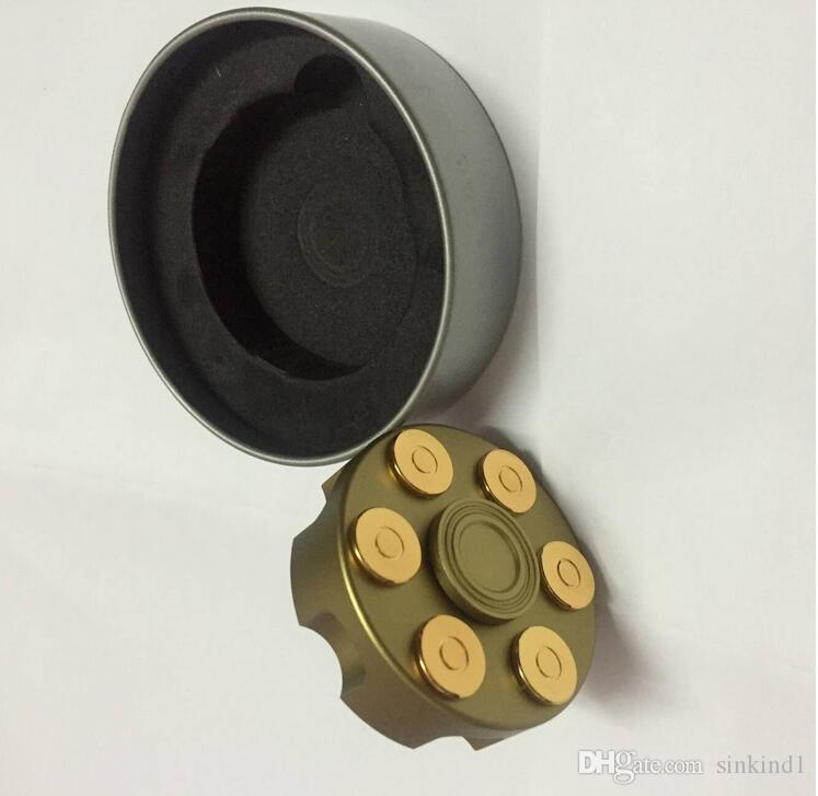 Bei fen Fidget Spinner Model of Bullet Clip Warhead Metal Hand Spinner Autism Adult Anti Relieve Stress Tri-spinner Stress Wheel