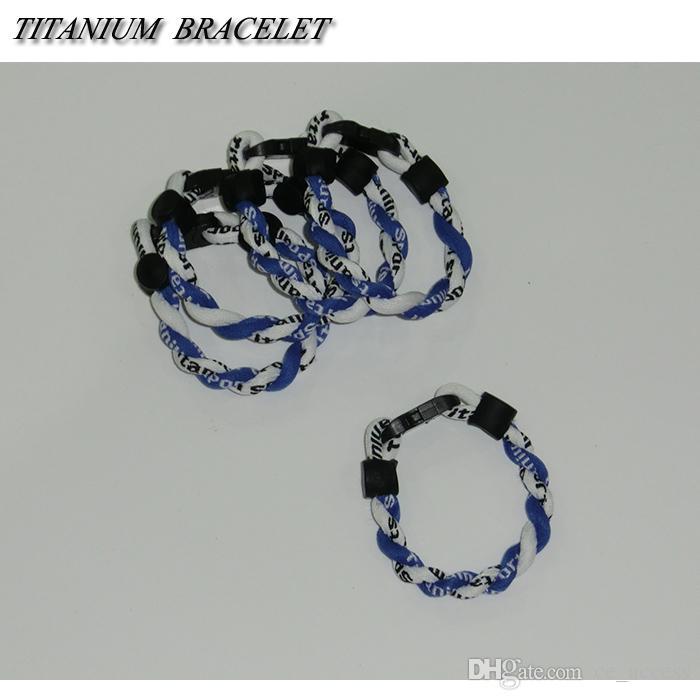 Braccialetto di corda intrecciata di energia personalizzata OEM / ODM / bande di alimentazione a basso costo