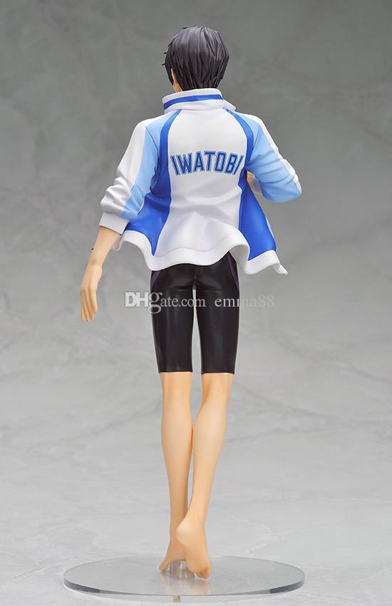 23cm Anime Free! Iwatobi Swim Club Haruka Nanase Tachibana Makoto 1/8 PVC Action Figure Collectible Model Toy