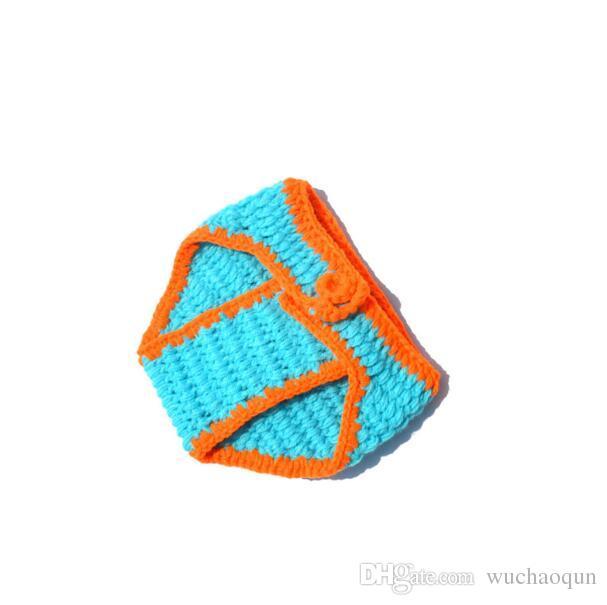 Puntelli Fotografia Baby 2017 Crochet Newborn Boys Dinosaur Outfit Baby Boy Vestiti Knitted Dinosaur Hat Set Infant Photo Puntelli