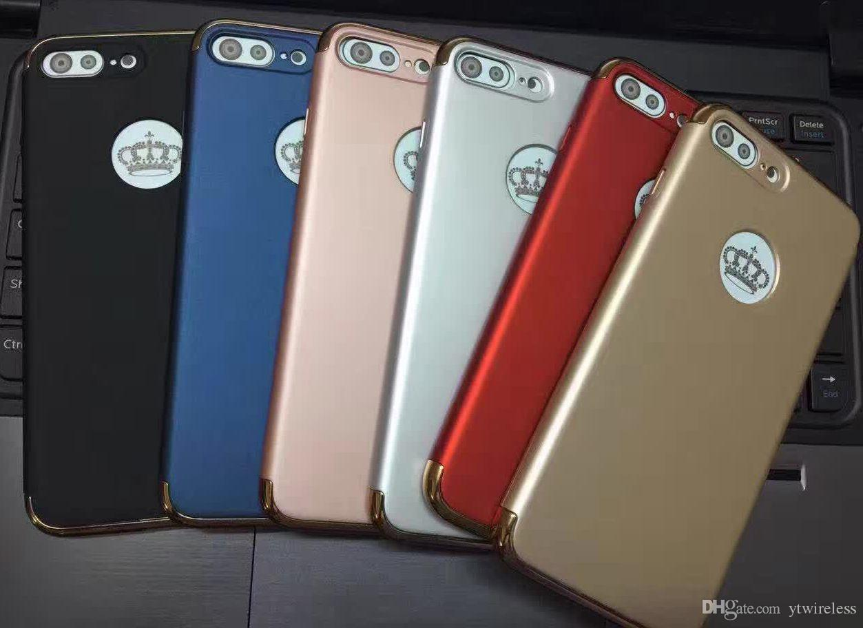 For Samsung Galaxy S7 Edge S6 Edge Plus Newest Cheap Hybrid PC Light Smart Phone Case Durable Defender Cover Rose Gold Wholesale Price