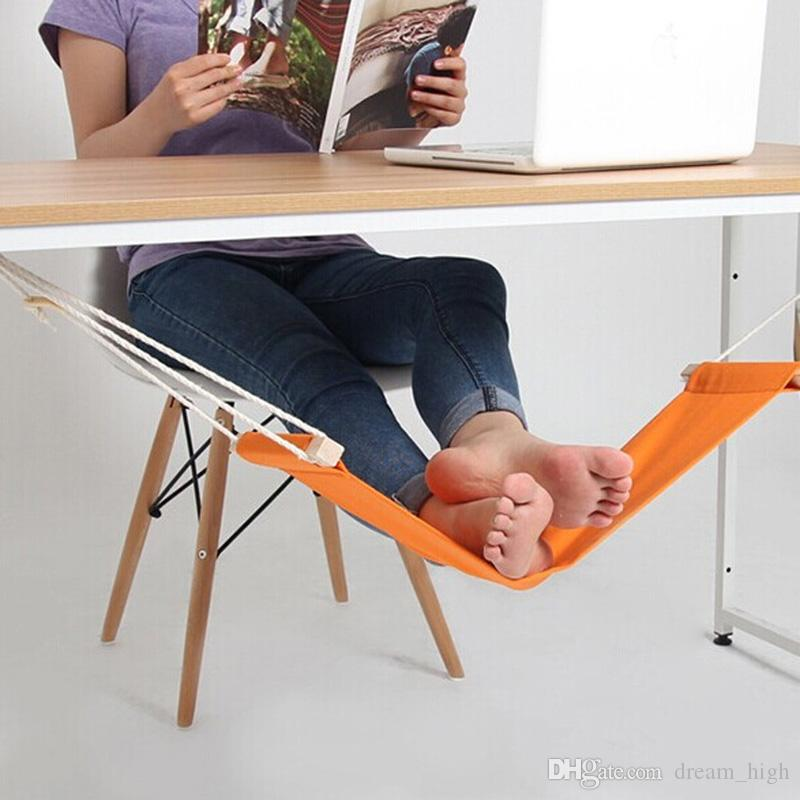 desk indoor fashion product hammock light foot aircraft portable rest