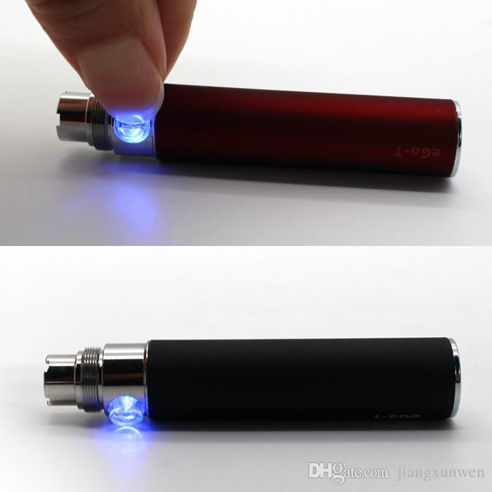 10 개 전자 담배 eGo - t 배터리 650mah 900mah 1100mah 전자 담배 510 스레드 VS 에고 EVOD 트위스트 비전 스피너 배터리