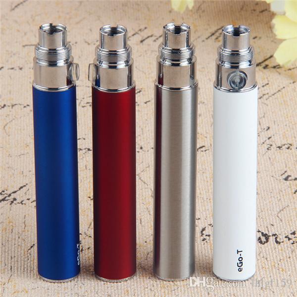 Full EGO 510 Thread e cigarette Battery Ego-T vape battery 650 900 1100 mAh vaporizer pen For CE3 CE4 glass thick oil vape cartridges DHL