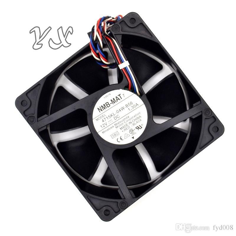 Новый 12 В 1.3A Y4574 4715KL-04W-B56 120 * 120 * 38 мм муравьи машина выделенный вентилятор для NMB