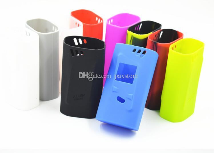 SMOK Alien 220w Silicone Case Colorful Rubber Sleeve Protective Cover Skin For SmokTech Alien 220 TC Box Mod Kit Vape