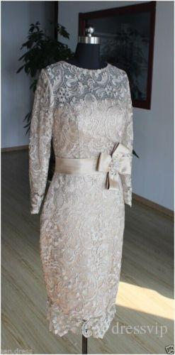 Real Pictures Plus Size Mother Of The Bride Dresses Lace Applique Sash Long Sleeve Mother's Dress For Formal Occasion Evening Gowns Elegant