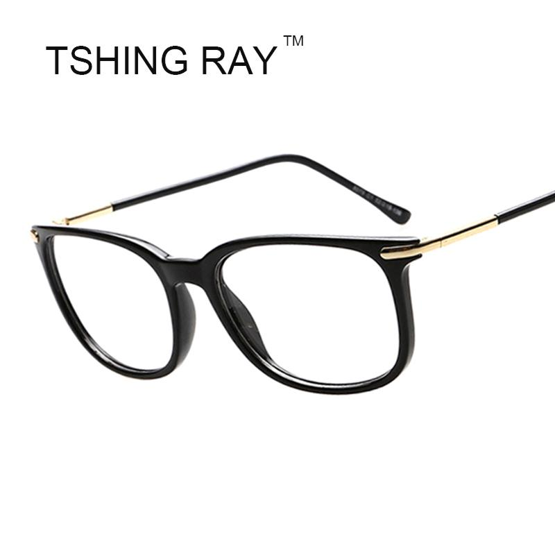 6b2475ae130 2019 Wholesale Square Eye Glasses Metal Frame Men Women Brand Design  Celebrity Reading Vintage Optical Eyeglasses Retro Eyewear Male Clear Le  From Gwyseller ...