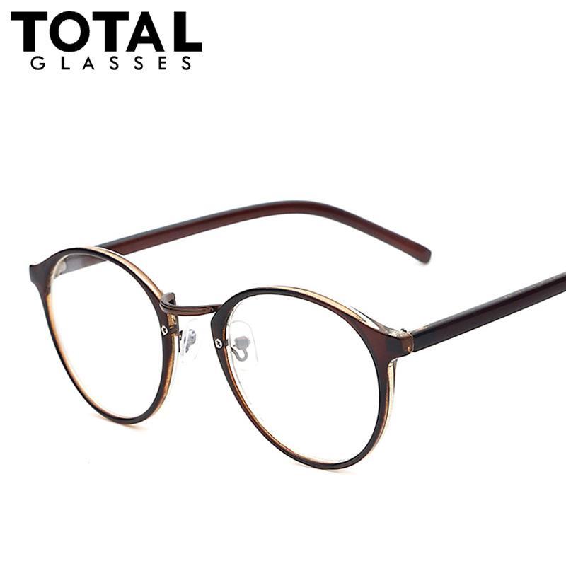 b0d28ede8a4 Wholesale-Hot Sale Round Eyewear Vintage Style Women Eyeglasses ...
