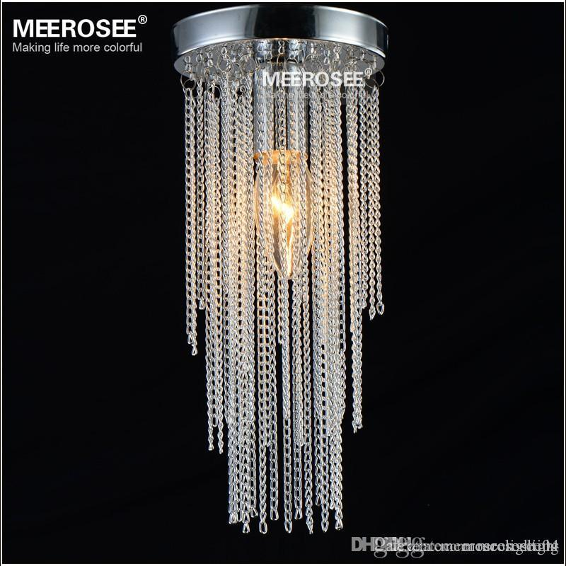 47 inch surface mount ceiling light mini small aluminum chain lamp 47 inch surface mount ceiling light mini small aluminum chain lamp aisle hallway porch corridor staircase light md12184 crystal ceiling light small light aloadofball Images