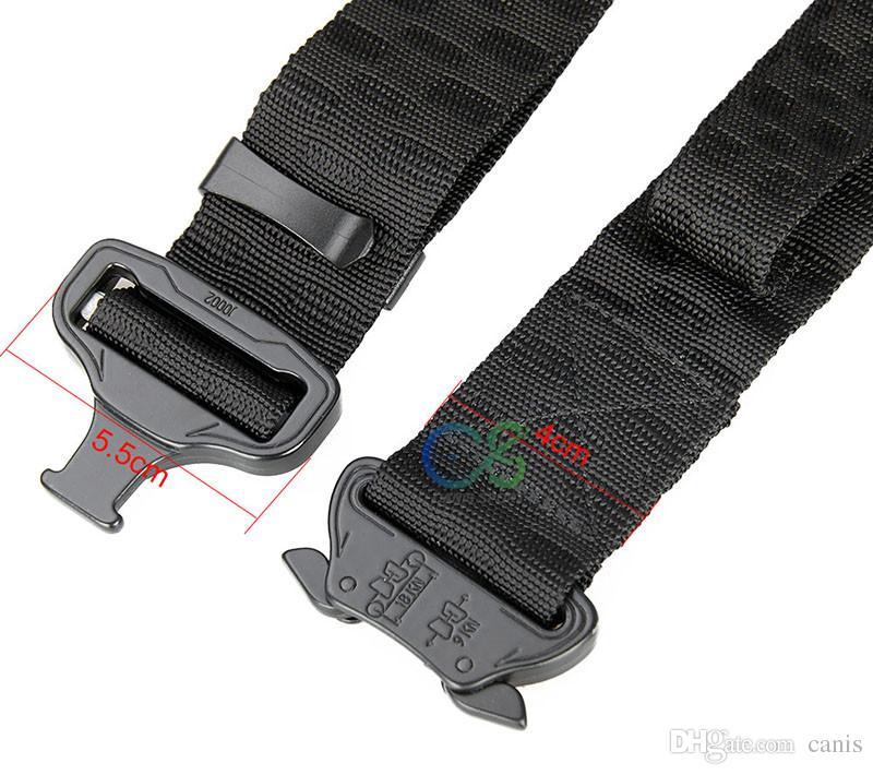 Cintura in nylon di caccia Unisex Uomo Donna Out Belt Tactical Amusiast Autonatore Outdoor di buona qualità CL11-0027B