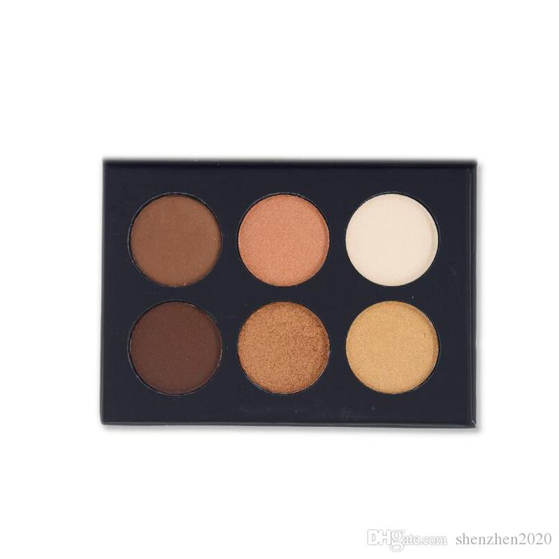 2017 New released NYX BEAUTY SCHOOL makeup palettes S145 Nude S146 Smoky 2 version eyeshadow palette DHL FREE