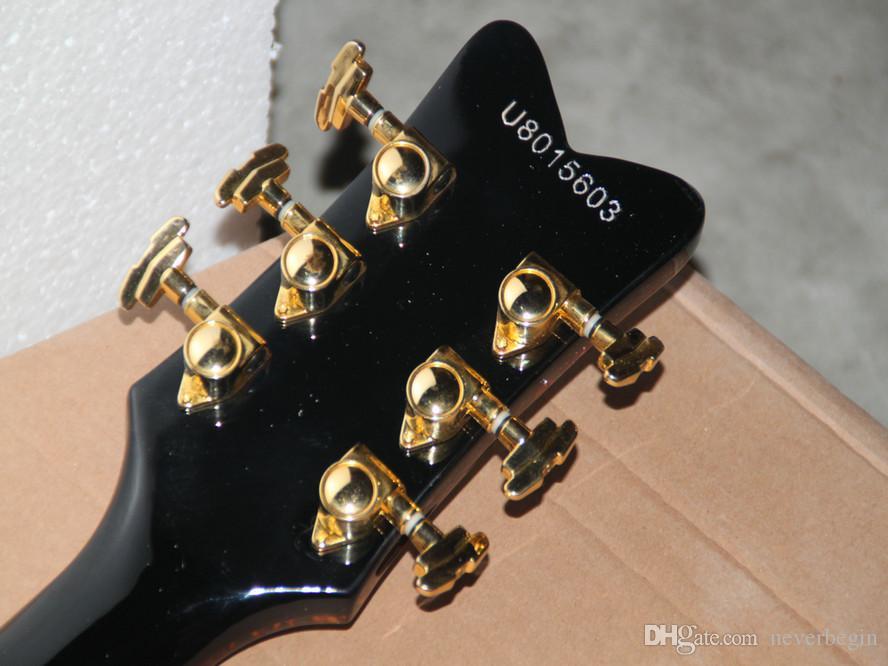 ファクトリーダイレクトセール新着ブラッククラシックジャズギター送料無料