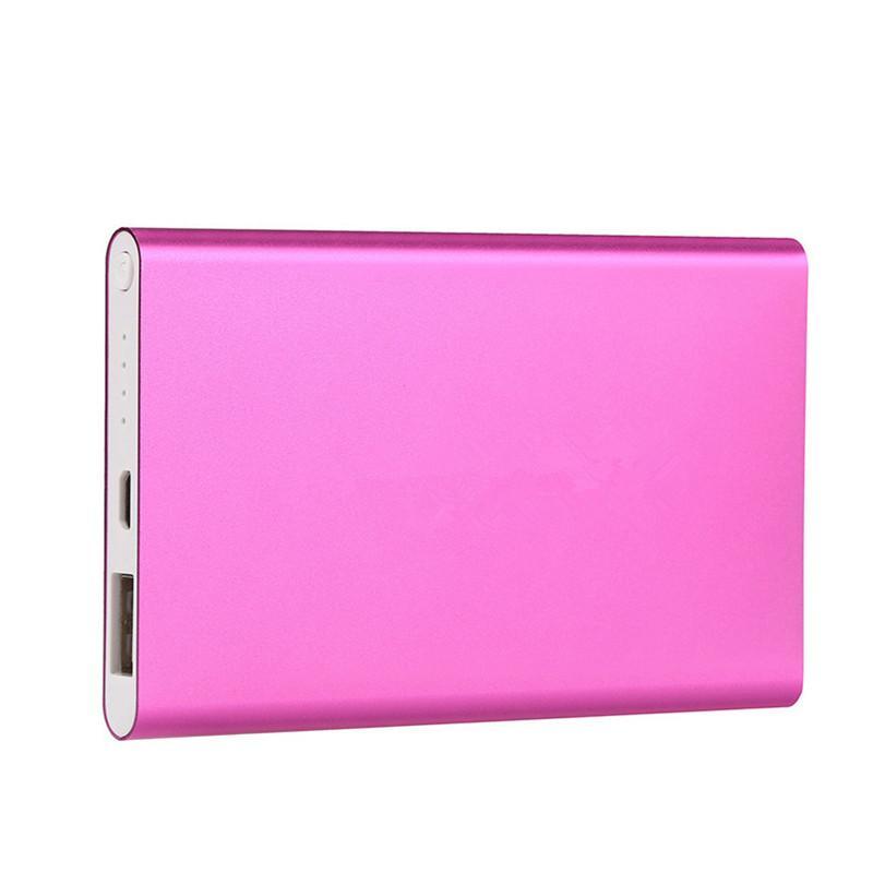 Ultra mince mince powerbank 8800mah Banque de puissance ultra mince pour téléphone portable Tablet PC Batterie externe
