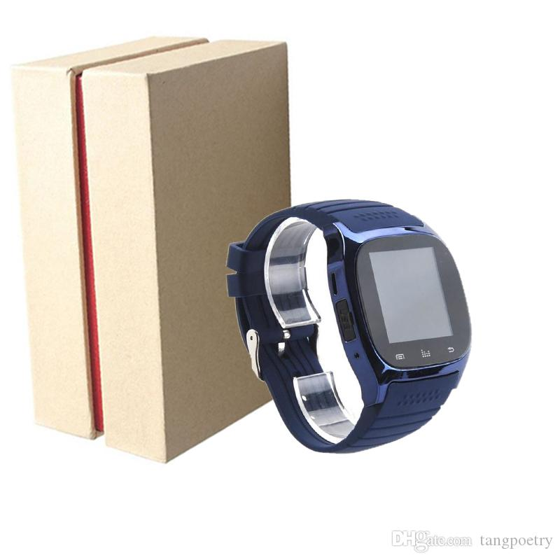 Bluetooth Smart Watches M26 for iPhone 6/6S Samsung S5/S4/Note 3 HTC Android Phone Smartwatch for Men Women Factory Price POST