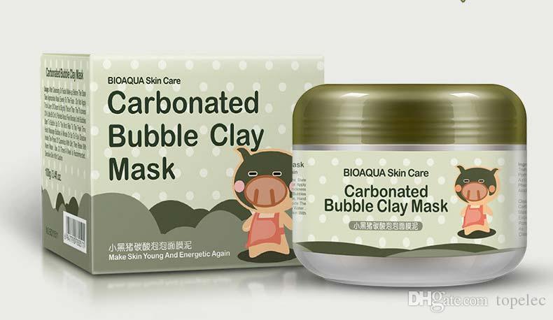 Bioaqua свиной коллаген Питательная маска сна Маска уменьшить поры угорь лечения акне увлажняющая маска для лица 100г