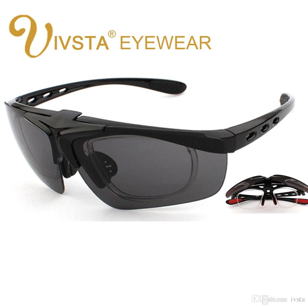 3cd4f763f8d IVSTA Flip Sunglasses UV400 Glasses Men TR Silicone Optical Spectacle Frame  Myopia Custom Lense Geek Eyeglass GL821 Sports Cycling Cheap Eyeglasses  Online ...