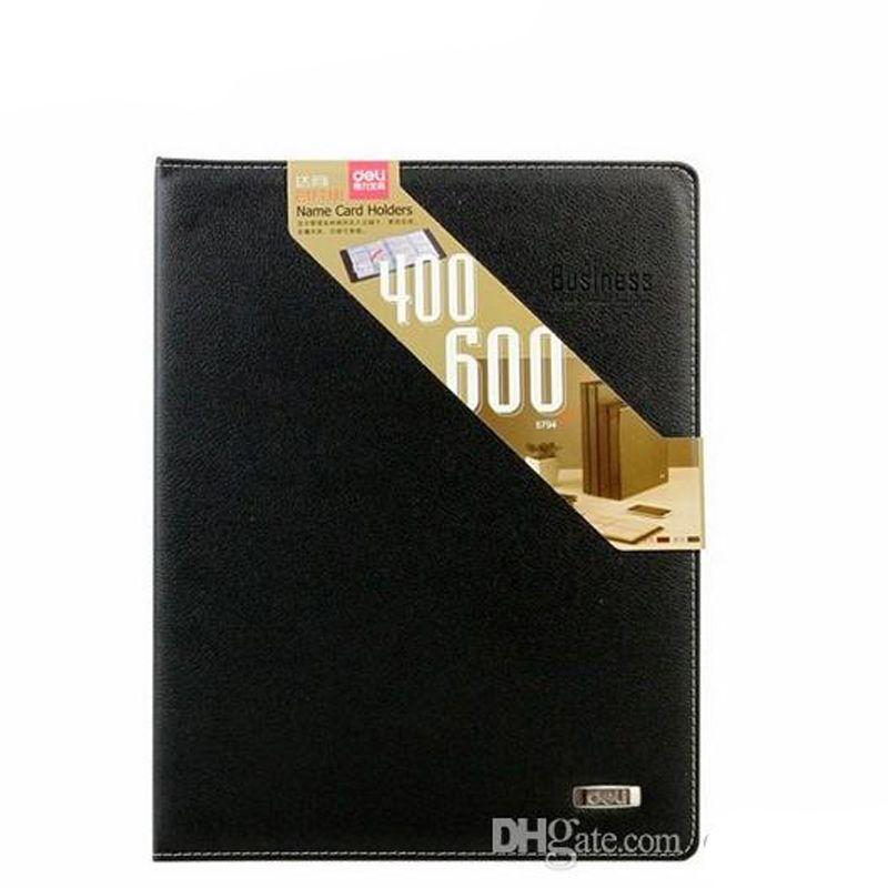 600 ورقة بطاقات اسم الشركة معرف بطاقة الائتمان حامل كتاب حالة بطاقة الأعمال حاملي ملفات حرية الملاحة