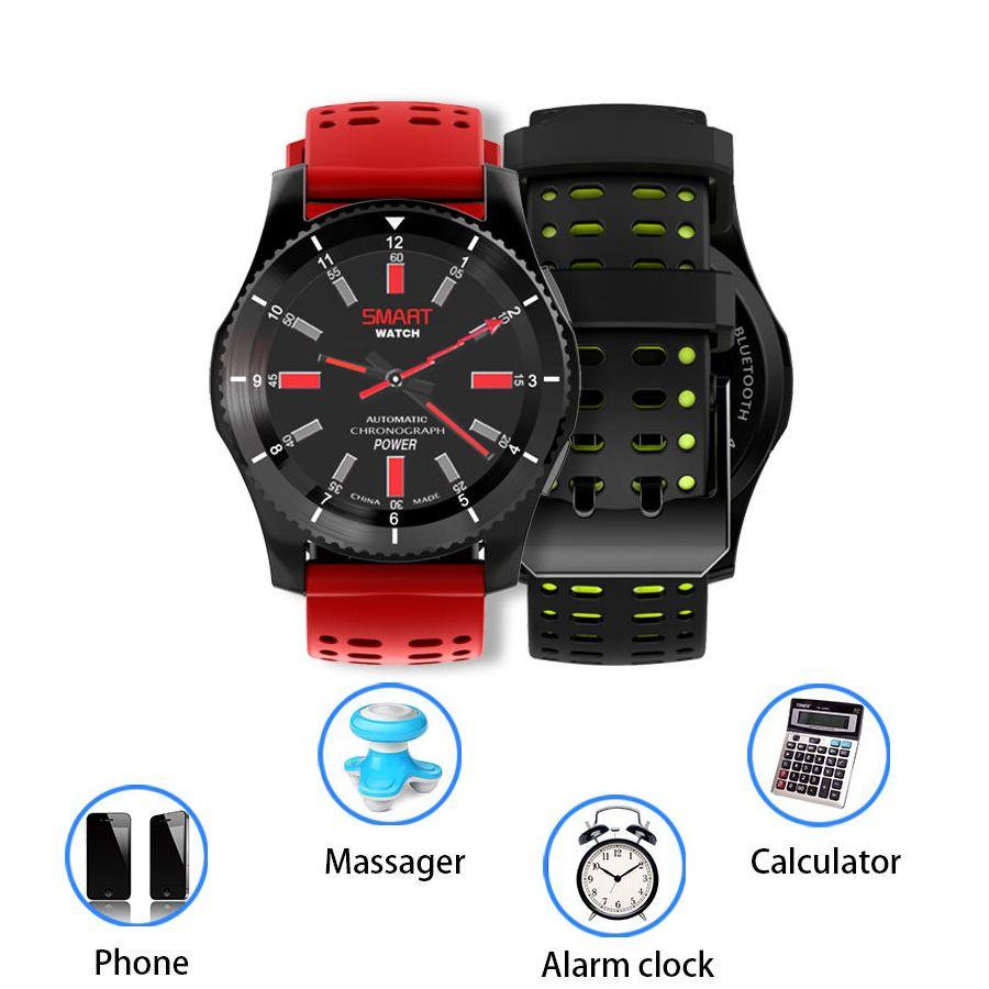 85fdf70817ae Relojes De Mujer Reloj Inteligente Bluetooth Reloj Militar Presión Arterial  Monitor De Ritmo Cardíaco Reloj De Pulsera Soporte De Tarjeta Sim De Alarma  Uv ...
