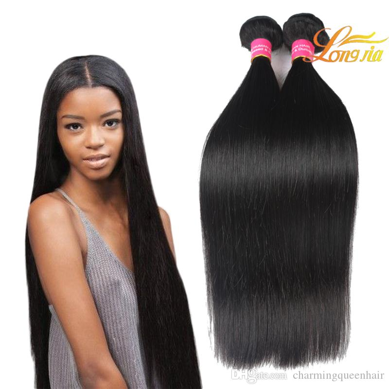 Mixed Length Indian Hair Straight Unprocessed Virgin Human Hair