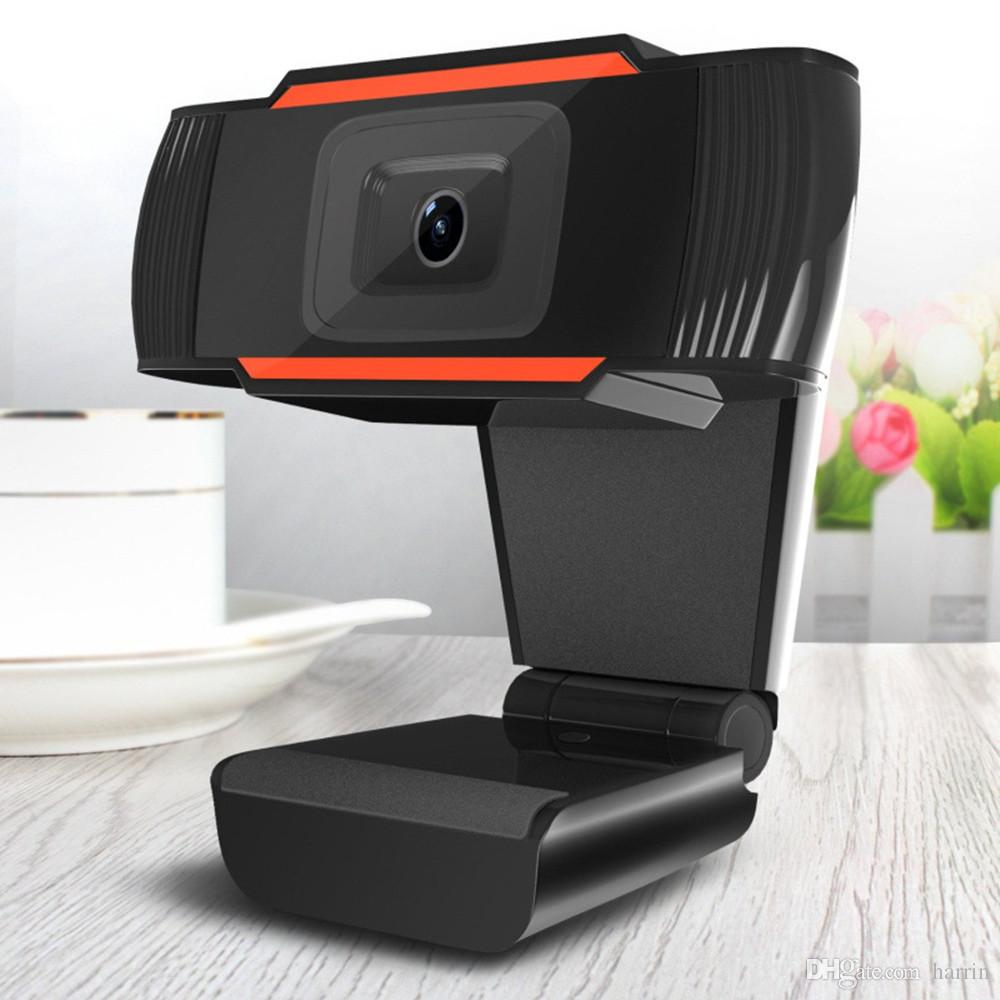 Electronic Computer Networking Zubehör USB 2.0 Schwarz HD Webcams Kamera drehbar Eingebautes 10m schallabsorbierendes Mikrofon 2945