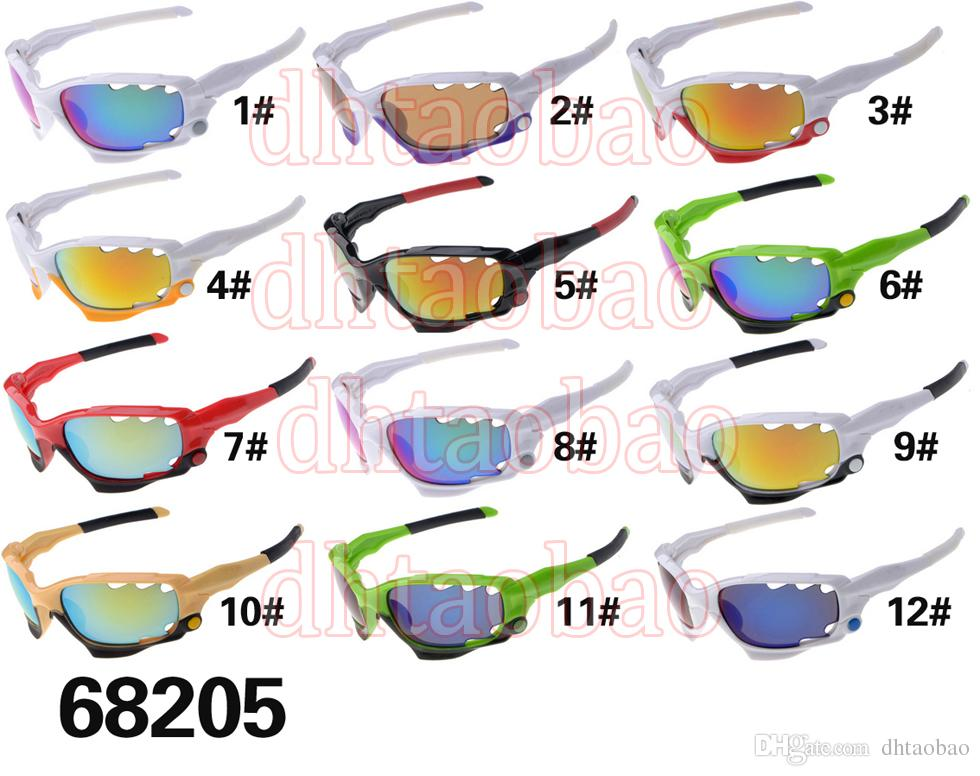 summer BRAND men popular sports spectacles fashion sunglasses women Cycling Sports Outdoor MAN Sun Glasses dazzling colors