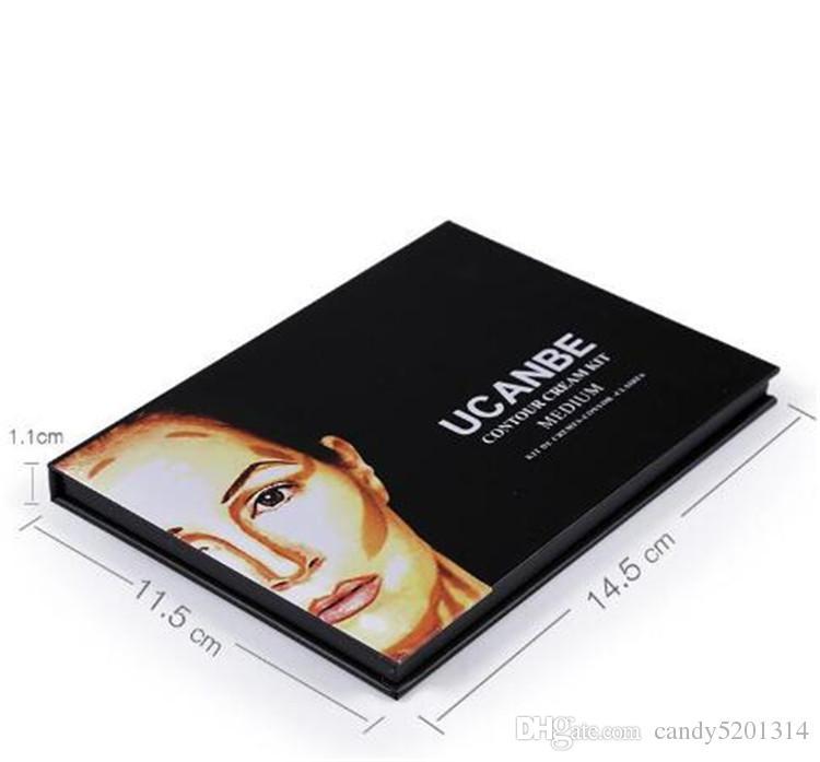 2017 UCANBE 컨투어 팔레트 키트 프로 6 색 컨실러 컨투어 크림 키트 6 컬러 DHL 무료 배송 A08