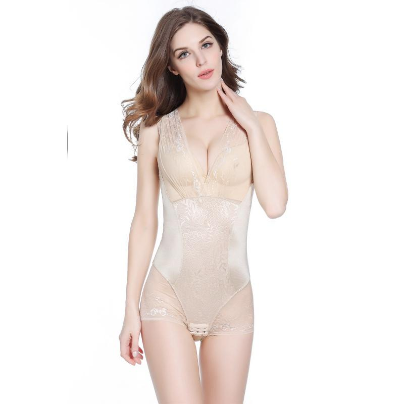 631168c5f8 Wholesale- Lace Shapers Women Full Body Slimming Control Thin ...