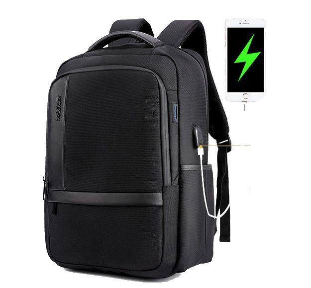 High Quality Canvas Shoulder Bag Student School Casual Travel Bag Rucksack  Backpack with USB Charging Port Backpack for Men Waterproof Outdoor Backpack  for ... d8ce41ca5c