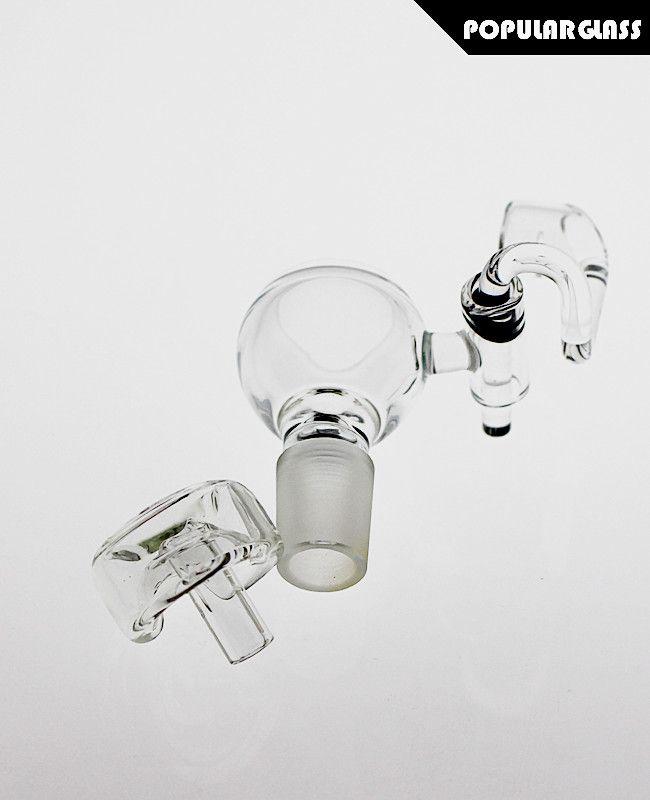 SAML 100% Quartz H Buckets with carb caps domeless quartz nail QUARTZ swing Arm H-Buckets glass bowl PG5065