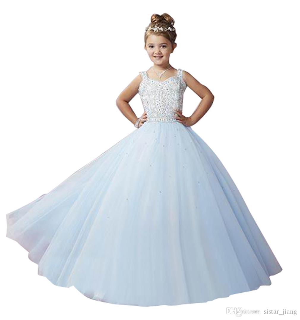 Crystal White First Holy Communion Dresses 2017 New Custom Made ...