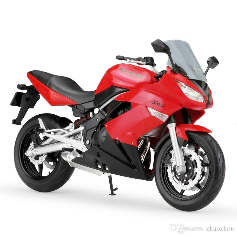 2018 Welly 1 10 Motorcycle Models Ninja 650r Red Simulation Model