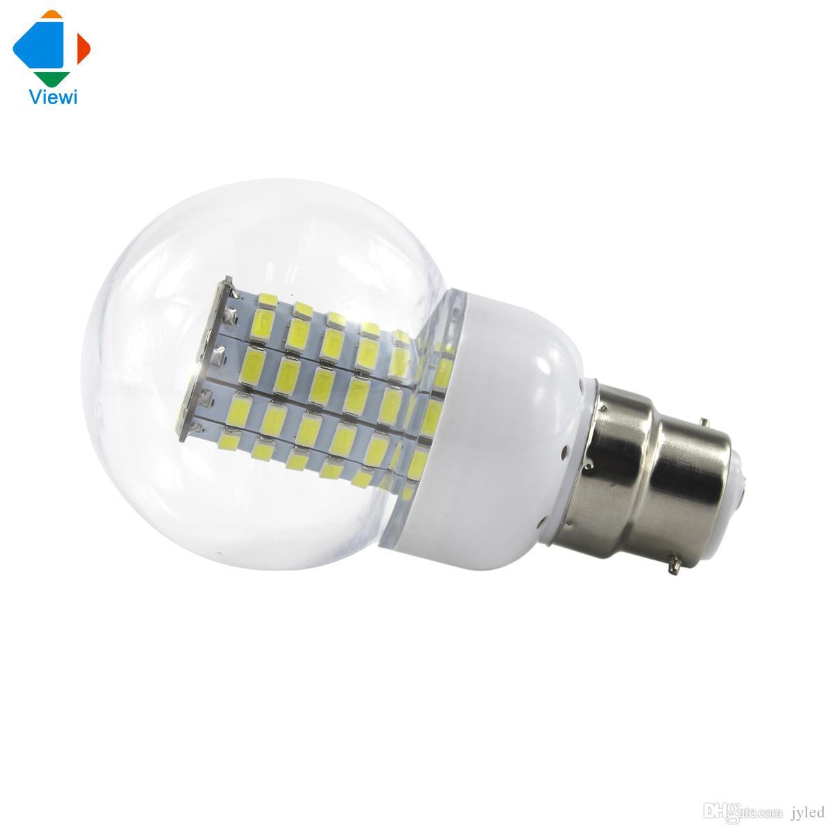 Acheter 5x 12v Ampoule Led B22 Lumiere De Mais 220v Smd5730 Ampoules