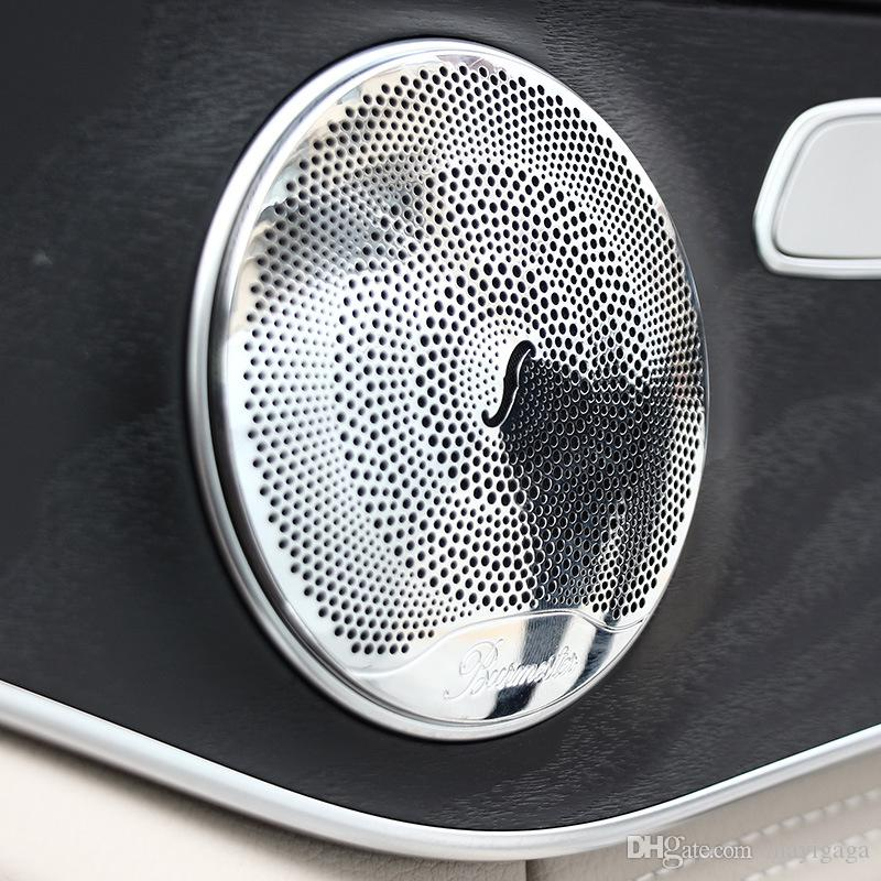 2019 Stainless Steel Door Speaker Cover Trim Ring For