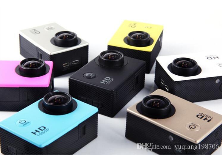 À prova d 'água 2.0 Polegada Tela LCD SJ4000 estilo 1080 P Full HD Filmadoras Câmera de Ação DV DVM Capacete Esporte VS SJcam DHL Livre