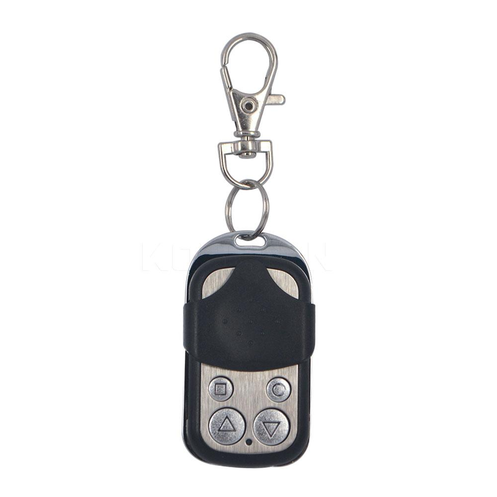 Wholesale-1pcs Wireless Universal Garage Door Rolling Code Duik Remote Control Duplicate Key Fob433MHZ Cloning Gate Worldwide Door Rolling