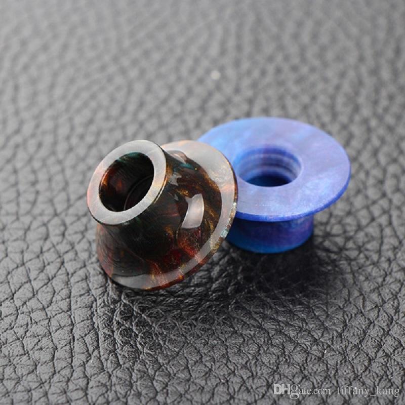 2 türleri Bobin Sanat Mage RTA Atomizer Ağızlık Epoksi Reçine Izgara Damla İpuçları Epoksi Reçine Damla İpucu nakliye ücretsiz