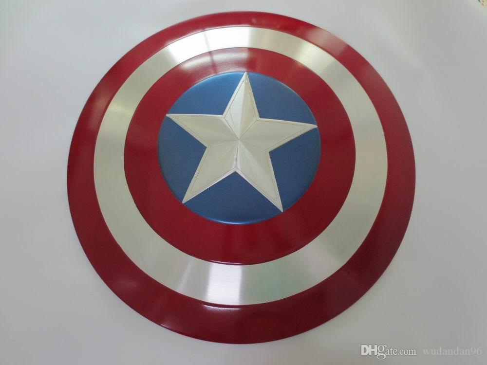Full Alloy Metal Civil War Captain America Shield Replica Cosplay ... 74a9f5b27e4