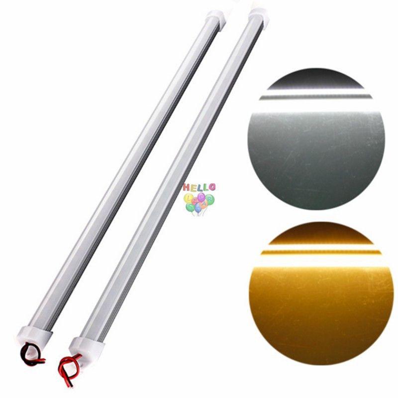 50cm 100cm DC12V LED Bar luce ad alta luminosità 5630 con copertura del PC LED luce LED striscia dura Cabinet Light Wall Lamp