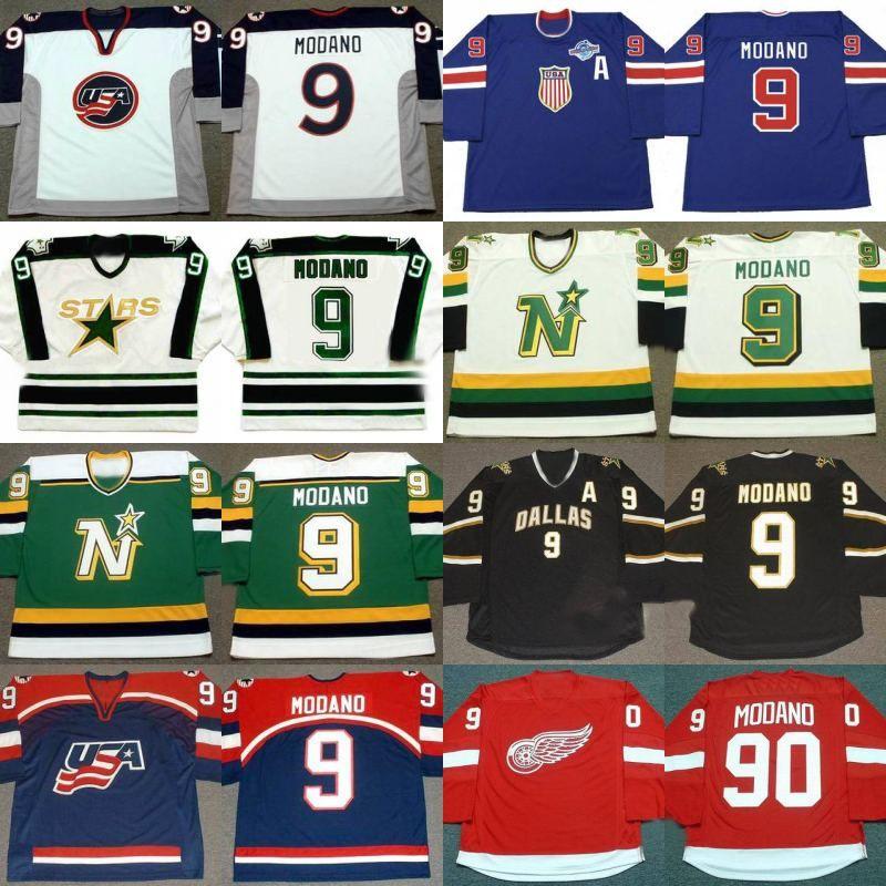 9746505f ... 2017 9 Mike Modano Jersey 2004 World Cup Usa Dallas Stars 1990  Minnesota North Stars 1991 2017 2017 Stitched Nhl ...