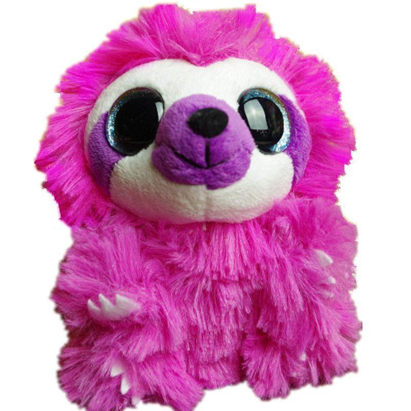 2019 Wholesale Wild Republic Pink Hedgehog Plush Toys 15cm Big Eyes