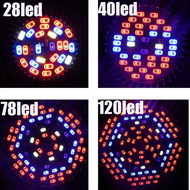 الطيف الكامل LED تنمو المصابيح الكهربائية 18 وات 30 وات 50 وات 80 واط